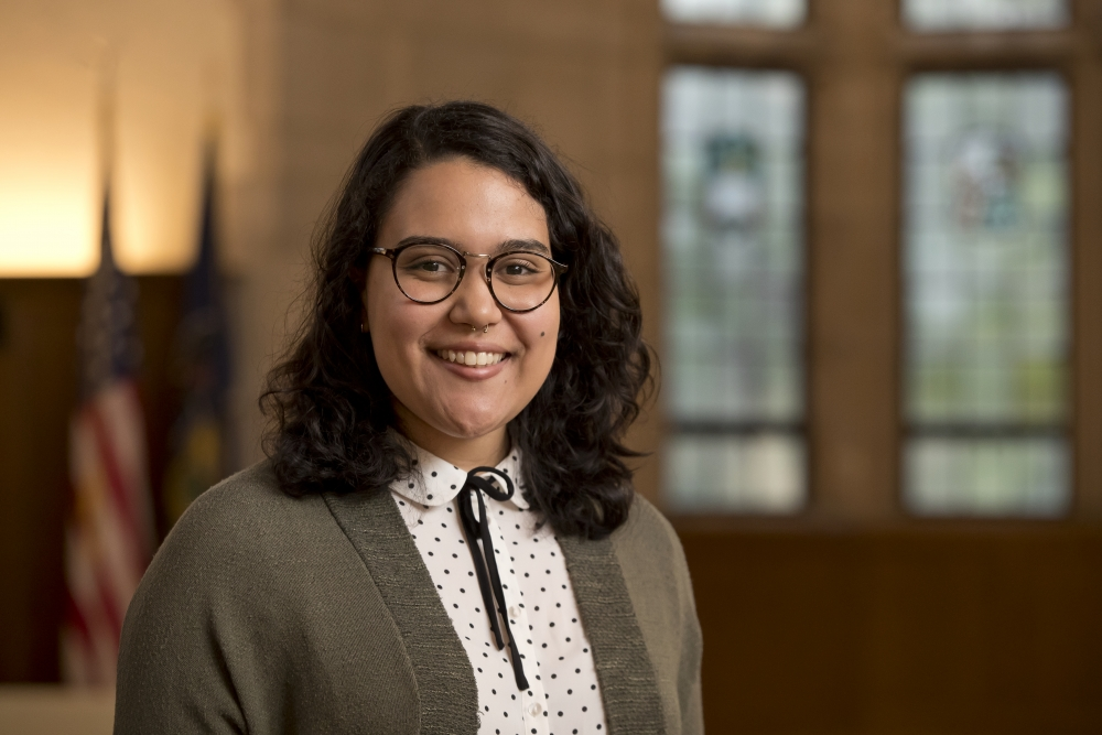 Temple University College of Liberal Arts Anthropology student and Fulbright scholar Dana Muñiz Pacheco.