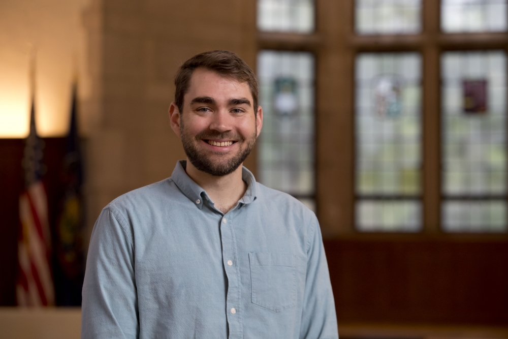 Temple University College of Liberal Arts History student and Fulbright scholar Eric Perinovic.